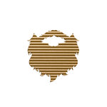 Spellbinders - Lumberjack Days Collection - Corrugated Pieces - Love Beards