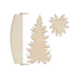Spellbinders - Lumberjack Days Collection - Wood Chips