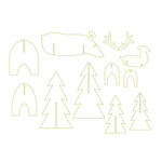Spellbinders - Lumberjack Days Collection - Die - Great Outdoors