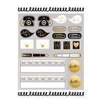 Spellbinders - Noteworthy Collection - Washi Tape Stickers - Note This