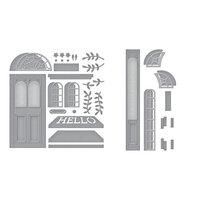 Spellbinders - Open House Collection - Etched Dies - Open House Door Base and Door Side Panel Bundle