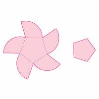 Spellbinders - Origami Love Collection - Die - Petal Fold