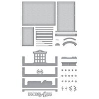 Spellbinders - Make A Scene Collection - Etched Dies - Picture Perfect Window Bundle