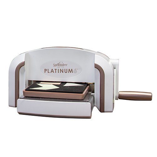 Spellbinders - Platinum 6 Machine with Dies and Embossing Folder - Complete Bundle