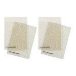 Spellbinders - Cutting Plates - Standard - 2 Pair, 4 Plates - Glitter