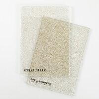 Spellbinders - Cutting Plates - Standard - 1 Pair - Glitter
