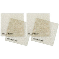 Spellbinders - Cutting Plates - 6 x 6 - 2 Pair, 4 Plates - Glitter