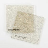 Spellbinders - Cutting Plates - 6 x 6 - 1 Pair - Glitter