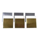 Spellbinders - 6 x 6 Poster Board Sheets - Platinum Pack 3
