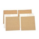Spellbinders - 6 x 6 Cork, Corrugated Cardboard and Balsa Wood Sheets - Platinum Pack 5