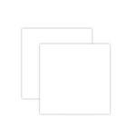 Spellbinders - 6 x 6 White Craft Foam Sheets - Platinum Pack 7