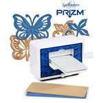 Spellbinders - Prizm - Die Cutting and Embossing Machine Bundle with Bonus Dies