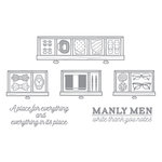 Spellbinders - Richard Garay Days Collection - Clear Acrylic Stamps - Everythings Place