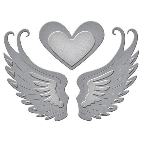 Spellbinders - D-Lites Die - Love in Flight