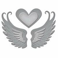 Spellbinders - D-Lites Die - Love in Flight