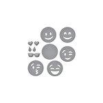 Spellbinders - D-Lites Die - Emojis