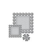 Spellbinders - D-Lites Die - Beaded Squares
