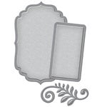 Spellbinders - D-Lites Die - Label and Accent