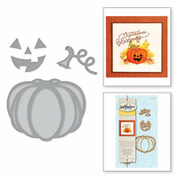 Spellbinders - Holiday Collection - Halloween - D-Lites Die - Jack-O-Lantern