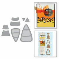 Spellbinders - Holiday Collection - Halloween - D-Lites Die - Candy Corn