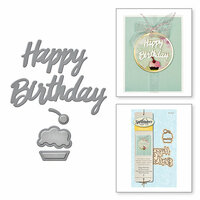 Spellbinders - D-Lites Die - Happy Birthday