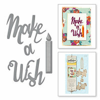 Spellbinders - D-Lites Die - Make a Wish