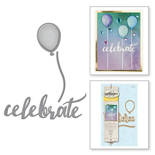 Spellbinders - D-Lites Die - Celebrate