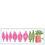 Spellbinders - Shapeabilities Collection - D-Lites Die - Create A Stargazer Lily