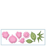Spellbinders - Shapeabilities Collection - D-Lites Die - Create A Rose