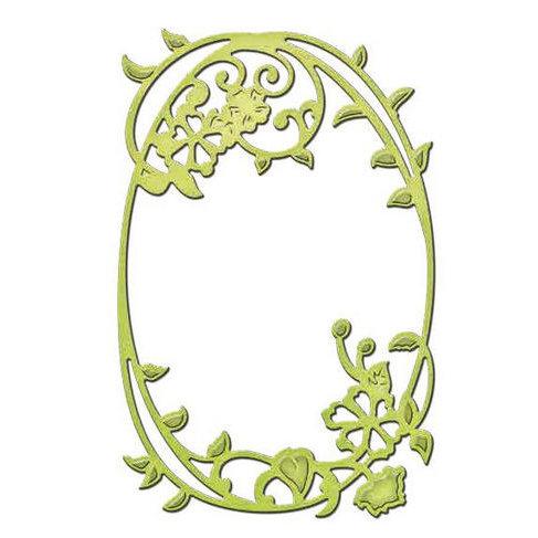 Spellbinders - Shapeabilities Collection - D-Lites Die - Framed Floral