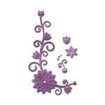 Spellbinders - Shapeabilities Collection - D-Lites Die - Floral Corner Two