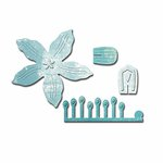 Spellbinders - Shapeabilities Collection - D-Lites Die - Crafty Flower One