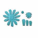 Spellbinders - Shapeabilities Collection - D-Lites Die - Crafty Flower Two