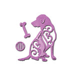 Spellbinders - Shapeabilities Collection - D-Lites Die - Dog Days