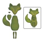 Spellbinders Forest Fox Shapeabilities D-Lites Die