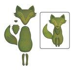 Spellbinders - Shapeabilities Collection - D-Lites Die - Forest Fox