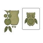Spellbinders - Shapeabilities Collection - D-Lites Die - Woodland Owl