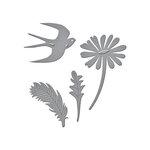 Spellbinders - D-Lites Die - Signs of Spring 1
