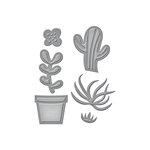 Spellbinders - D-Lites Die - Succulent Garden