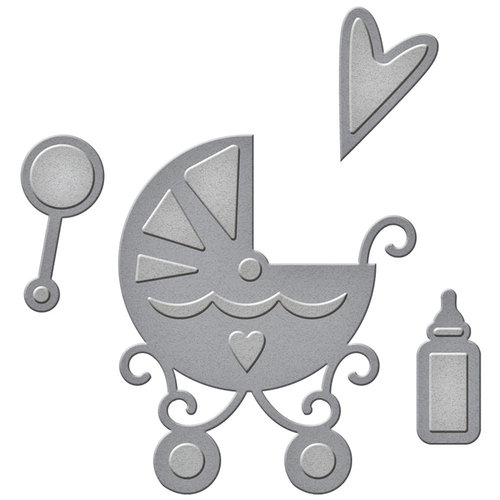 Spellbinders - D-Lites Die - Sweet Baby