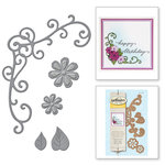 Spellbinders - D-Lites Die - Flower and Vine