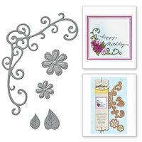 Spellbinders - D-Lites Die - Flower and Vine