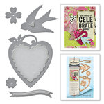 Spellbinders - Joyous Celebrations Collection - Dies - Swallow and Heart