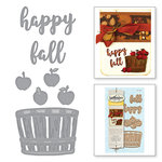 Spellbinders - Holiday Collection - D-Lites Die - Happy Fall
