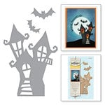 Spellbinders - Holiday Collection - Halloween - D-Lites Die - Haunted Manor