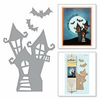 Spellbinders - Holiday Collection - Halloween - D-Lites Die - Haunted Manor