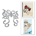 Spellbinders - Rebel Rose Collection - Dies - Rebel Butterfly