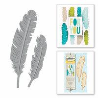 Spellbinders - D-Lites Die - Two Feathers