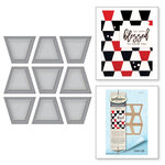 Spellbinders - Quilt-It Collection - D-Lites Die - Trapezoid Dance