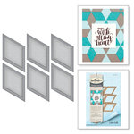 Spellbinders - Quilt-It Collection - D-Lites Die - Tumbling Blocks